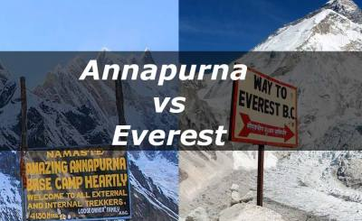 Annapurna Base Camp Trek vs Everest Base Camp Trek