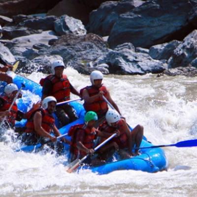 1 Day Rafting in Trishuli