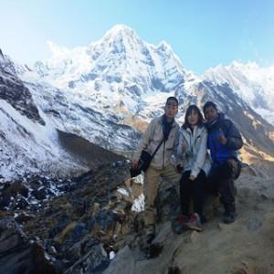Inspiring trekking